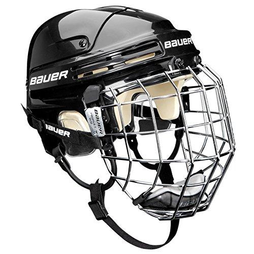 Bauer Eishockeyhelm 4500 Combo mit Gitter, Schwarz, M, 1044665