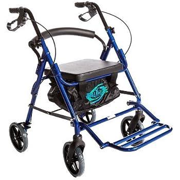 Amazon Com Healthline Combo Transport Rollator Chair With