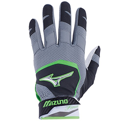Mizuno Finch Youth Kids Fastpitch Softball Batting Gloves, X-Small, - Fastpitch Glove Softball Batting