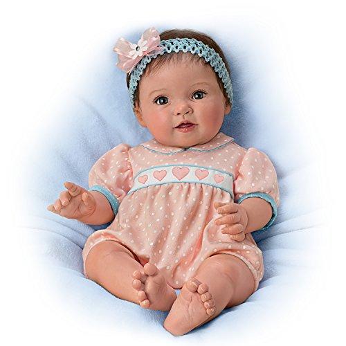 Ashton Drake Lifelike Poseable Baby Doll by Ping Lau: Littlest Sweetheart by The Ashton-Drake Galleries by The Ashton-Drake Galleries by The Ashton-Drake Galleries