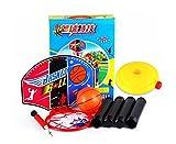 Kids Indoor Portable Basketball Combo Basketball Hoop, Basketball, Pump, Base