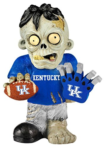 Wildcats Team Gnome - Forever Collectibles NCAA Kentucky Wildcats Unisex Zombie Figurinezombie Figurine, Team Color, One Size