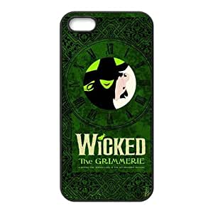 Customiz The Wicked Musical Broadway Drama Back Case for iphone 5 5S JN5S-2511