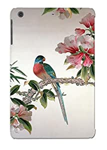 DfzITi-1112-XccTE Anti-scratch Case Cover Stylishgojkqt Protective Jay On A Flowering Branch Case For Ipad Mini/mini 2