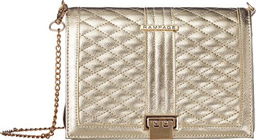 Multi Gold Crossbody Quilted Rampage Womens YzAwqf6