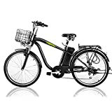 NAKTO 26' 250W Cargo Electric Bicycle Sporting...