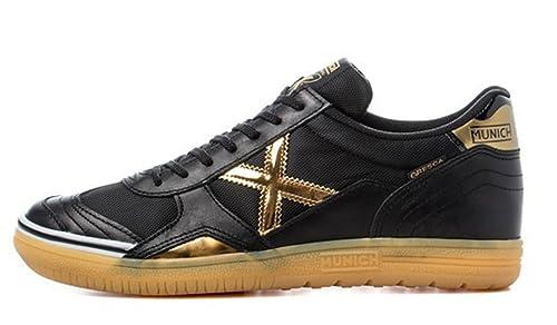Munich Gresca, - Zapatillas de Fitness Hombre Negro Size: 44 EU: Amazon.es: Zapatos y complementos