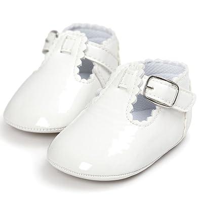 Zapatos de bebé OXOK La princesa suave de la letra del bebé calza las zapatillas de