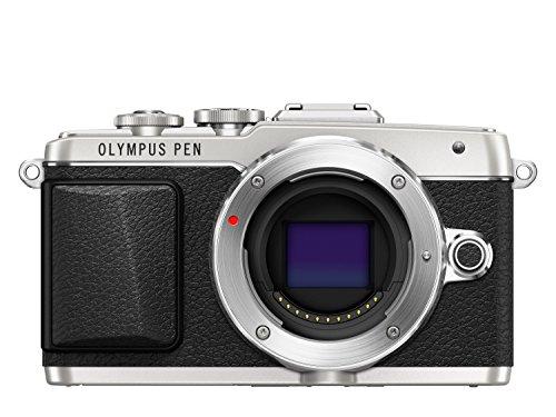 Olympus PEN E-PL7 Systemkamera Gehäuse (16 Megapixel, Full HD, 7,6 cm (3 Zoll) Display, Wifi) silber