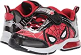 Favorite Characters Boys Marvel Spider-Man Lighted Sneaker (Toddler/Little Kid), Size 10 Red