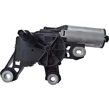 Motor del limpiaparabrisas del coche, motor del limpiaparabrisas del parabrisas trasero eléctrico del coche de 12V DC en forma para el OEM de Renault ...