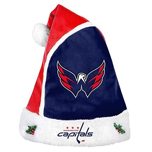 (Washington Capitals 2015 Basic Santa Hat)