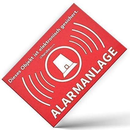 Alarma Alarma - Atención Alarma gesic FF149 - - Letrero ...