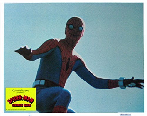 Spider-Man strikes Back 1978 Authentic, Original VINTAGE Marvel production 11×14 Lobby Card #4
