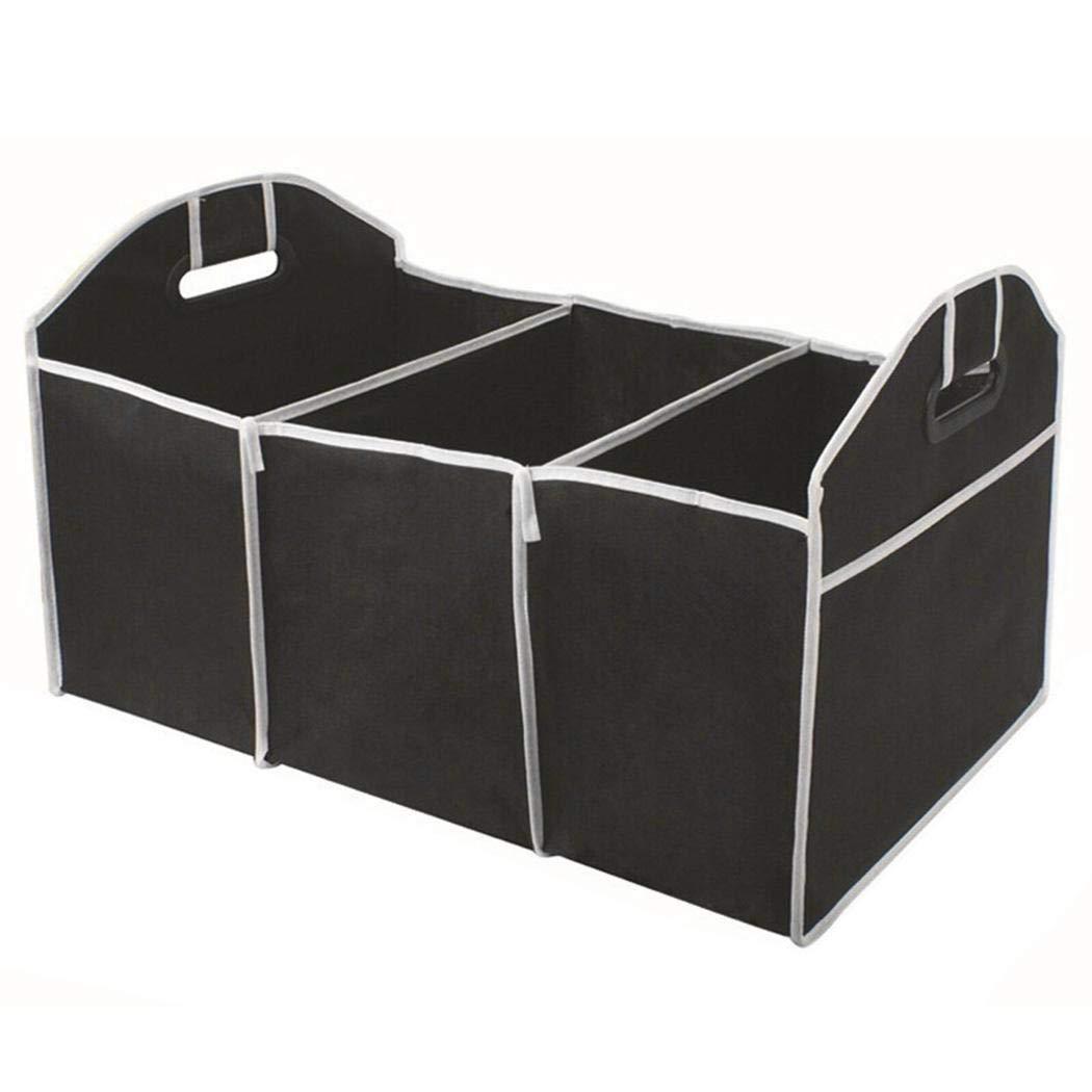 banlany Car Trunk Storage Box Durable Portable Folding Multifunctional Car Storage Box Shelf Baskets