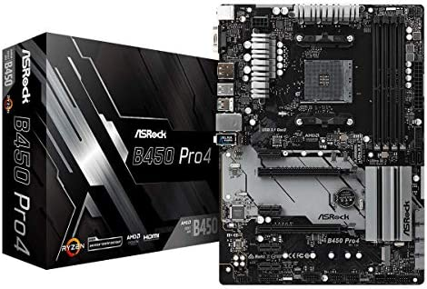 ASRock B450 Pro4 - Placa de Base, Color Negro: Amazon.es: Informática