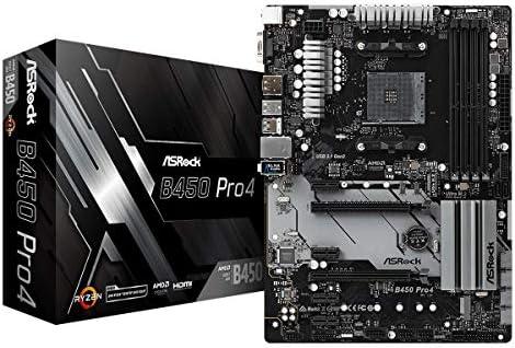 ASRock B450 Pro4 - Placa de Base, Color Negro: Amazon.es: Informática