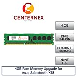 4GB RAM Memory for Asus Sabertooth X58 (DDR310600 NonECC) Motherboard Memory Upgrade by US Seller