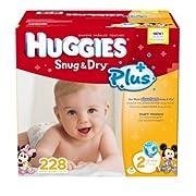 Huggies® Snug & Dry Plus Diapers Size 2(12-18 Lbs); 228 Count