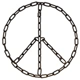 "MayRich 16""D Chain Link Peace Sign Wall Decoration Review"
