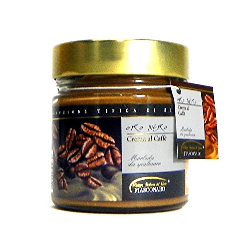 Fiasconaro Oro Nero Coffee Cream Spread, 180 Gram