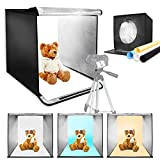 LimoStudio 20 Inch Cube Box Table Top Photo Shooting Tent for Commercial Product Photo Shoot with LED Lighting, Photo Video Studio, AGG2489
