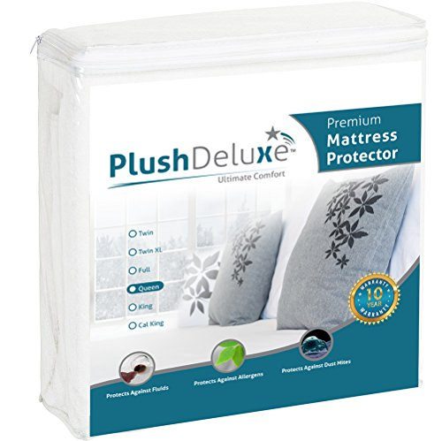 Waterproof Mattress Protector Hypoallergenic Breathable