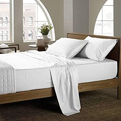 12 Pack King Size 114 X120 Flat Sheet T300 Luxury 100 Egyptian Cotton Incredibly Soft And Luxurious Breathable Fabric 12 King