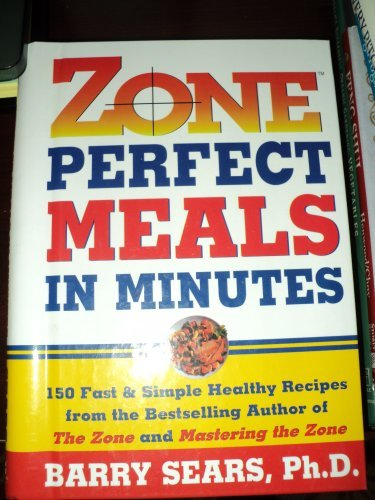 Perfect Meals Minutes Barry Sears product image