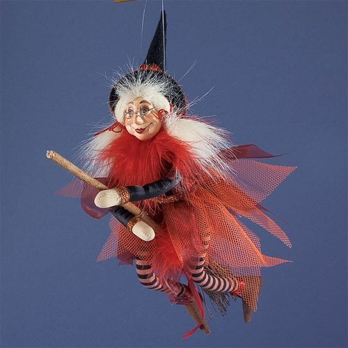 Possible Dreams Halloween Baby Broomers I'm In Love with Brew - Witch Ornament