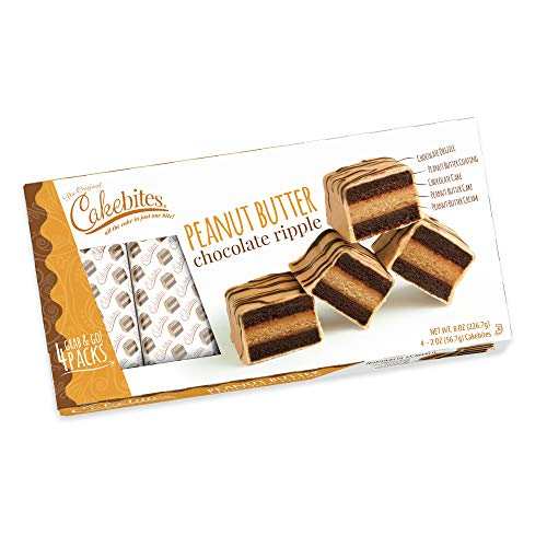Peanut Butter Chocolate Ripple Cakebites FAMILY - Bites Cake