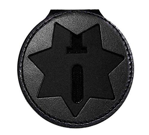 California Dept of Corrections Belt Clip Badge Holder (Cutout ()