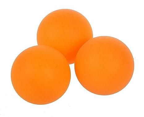 Cdet 6X Pelotas de Tenis de Mesa Deportes Ping-Pong de Naranja de plastico Pelota