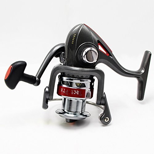U s a free shipping tact pro open face spinning fishing for Open face fishing rod