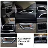 AutoPop Imported Interior Chrome Kit for Maruti Suzuki Ciaz