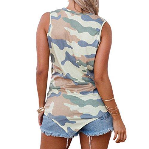 Donna Sanfashion Ballerine Shirt155 Bekleidung Damen Mimetico wnqIST
