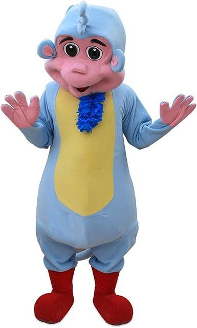 Amazon Com Boots From Dora The Explorer Monkey Explorer Mascot Costume Character Blue Clothing