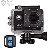 Waterproof Action Camera AD Sports Camera 4K 16MP Wifi Remote Control 170 Ultra Wide Lens SONY Sensor 2017 Newest