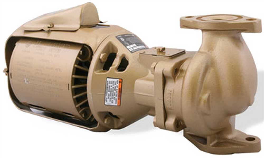Bell & Gossett 106197LF Series 100 Type Circulator Pump Bronze, 5.6'' Height, 7.5'' Wide, 15.6'' Length, 5.6 x 15.6 x 7.5 by Bell & Gossett