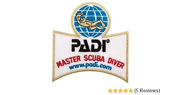PADI MASTER INSTRUCTOR  SCUBA DIVE PATCH