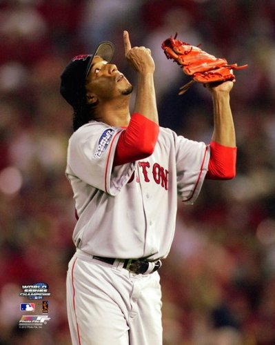 2004 World Series Pictures (Pedro Martinez Boston Red Sox 2004 World Series Game 3 Photo 8x10)