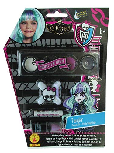 Monster High Twyla Costume Makeup -