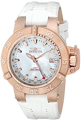 Invicta Women's F0032 Subaqua Collection Noma III GMT Rose Gold-Tone Watch (Invicta Subaqua Women Watches)