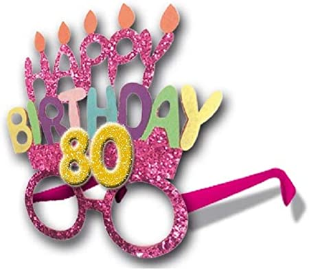 accessori idea regalo 60° Compleanno OCCHIALI PARTY 60 anni