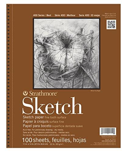 Strathmore 455-4 400 Series Sketch Pad, 11