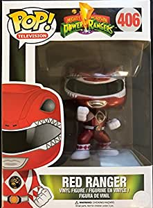 Funko Pop! Mighty Morphin Power Rangers Metalic Red Ranger Action Vinyl Figure