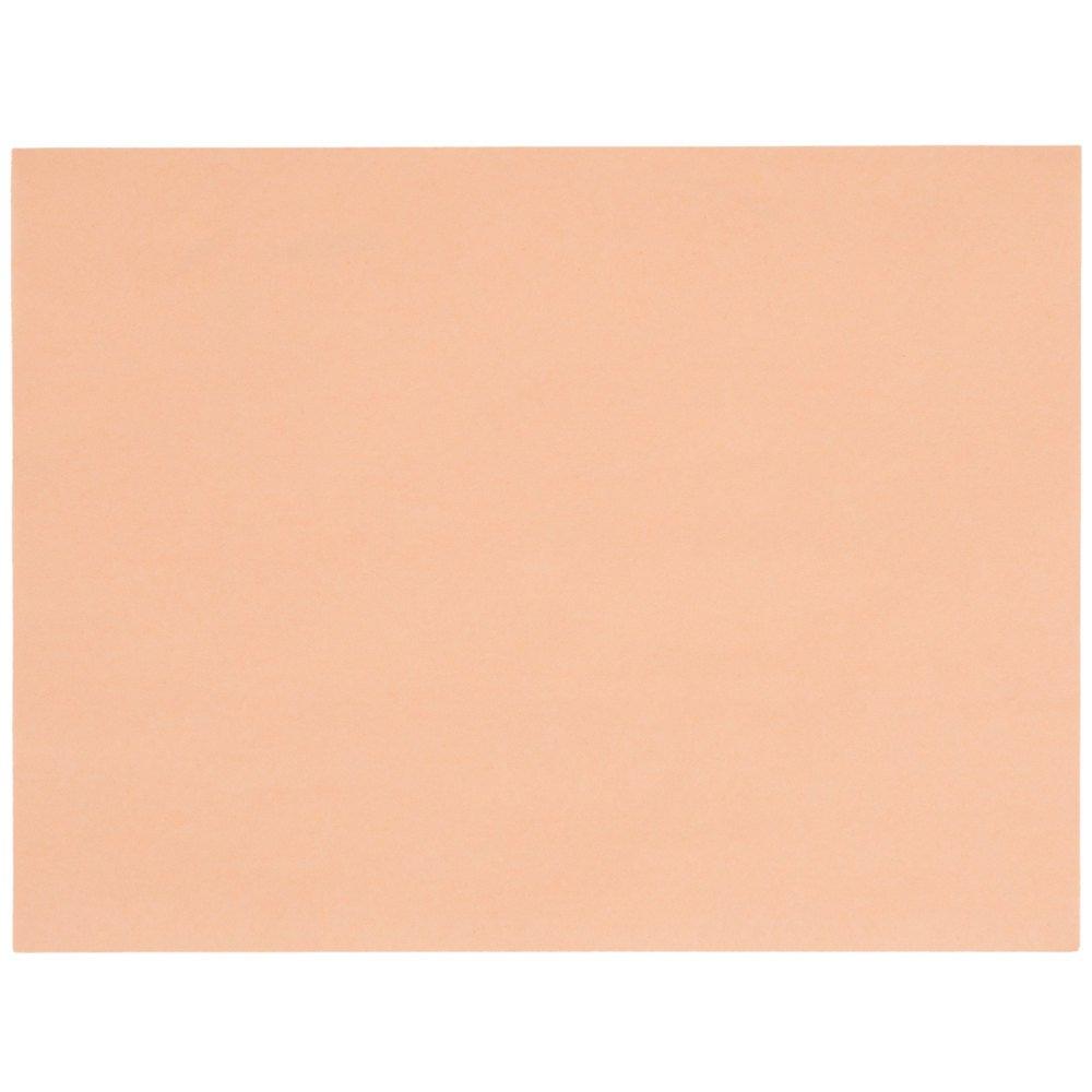 LitePeachTreat Steak Paper Sheets - 1000/Case9'' x 12'' 40#
