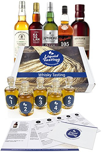 Whisky Tasting Sherry (5x 40ml - für 2 Pers.)