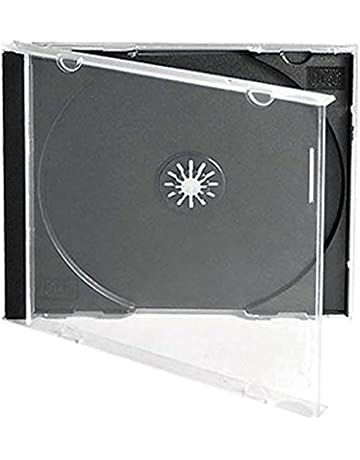 amazon com disc jewel cases electronics