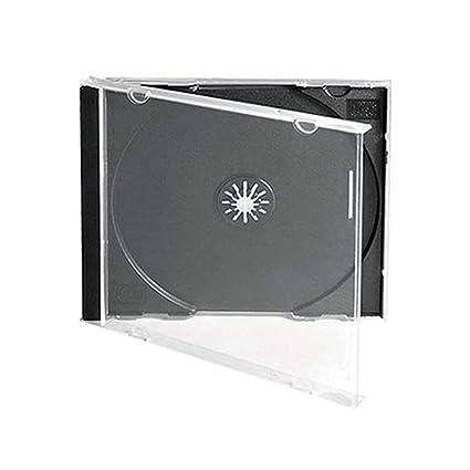 Maxtek 10 4 Mm Standard Single Clear CD Jewel Case With